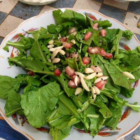 Savida Sea Food Bar: Cress salad