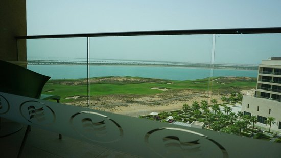 Crowne Plaza Abu Dhabi - Yas Island: From my bed