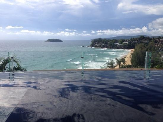 The Shore at Katathani: At the pool villa overlooking the Andaman sea