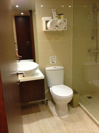 Brighton Hotel Hong Kong : bathroom