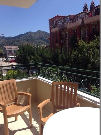 Liman Apart Hotel: View from the balcony