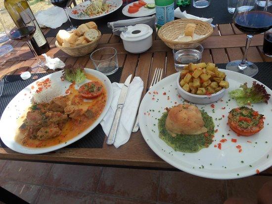 La Petite Auberge : Die Hauptspeisen von 13 und 18 Euro Menüs
