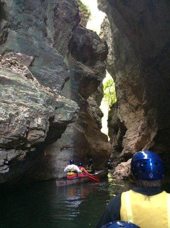 Parco Fluviale Novella : canyon
