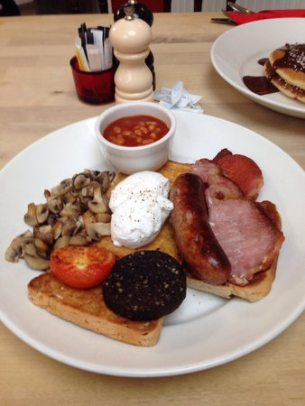 Baileys 2 - Coffee and Tearooms: Amazing breakfast really fresh and the taste is mouth watering good :)