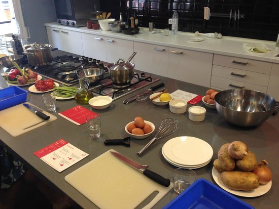 Barcelona Cooking Classes: All ready to start and get going