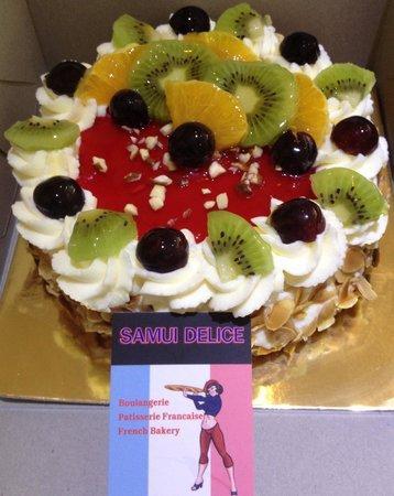 Samui Délice : Birthday cake