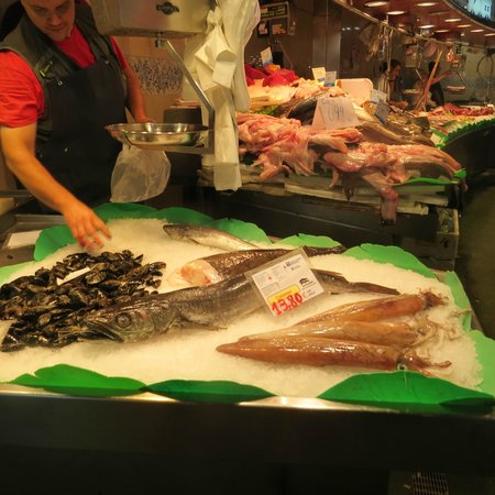 Las Ramblas: Sea Food Galore
