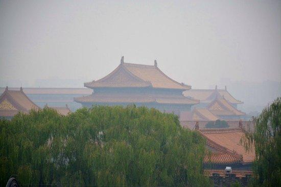 The Emperor Beijing Forbidden City: Rooftop view