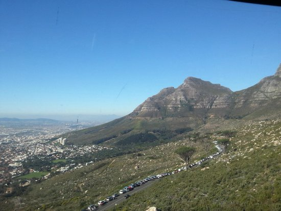 Table Mountain Aerial Cableway: view east