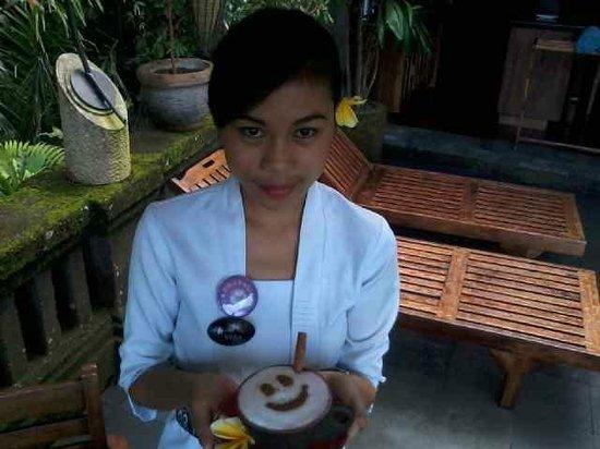 Bidadari Private Villas & Retreat : Our  Coffee  queen