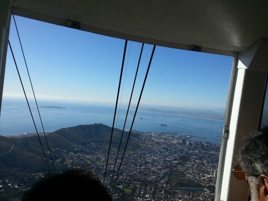 Table Mountain Aerial Cableway: south