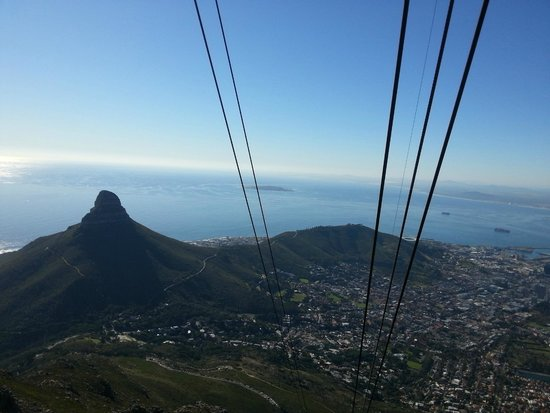 Table Mountain Aerial Cableway: SW