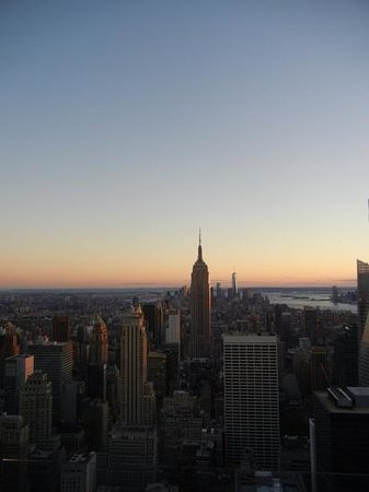 Observatorio Top of the Rock: Traum Aussicht bei Sonnenuntergang