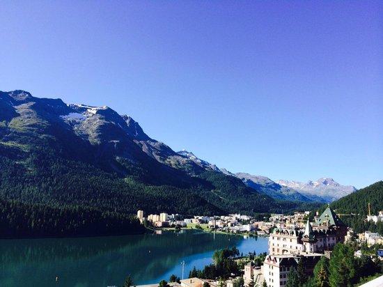 Kulm Hotel St. Moritz : Amazing view
