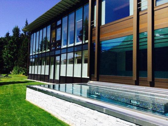Kulm Hotel St. Moritz: SPA outdoor