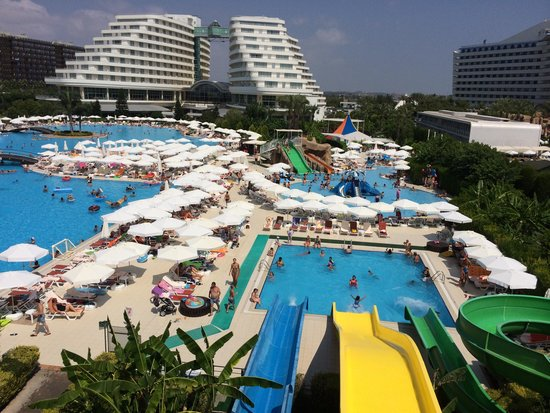 Miracle Resort Hotel: View of pools
