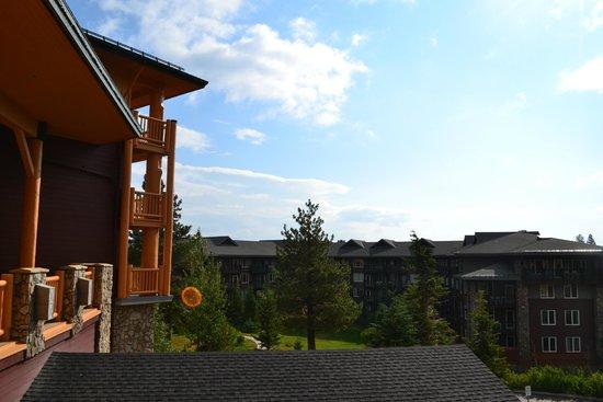 Juniper Springs Resort: vue du balcon