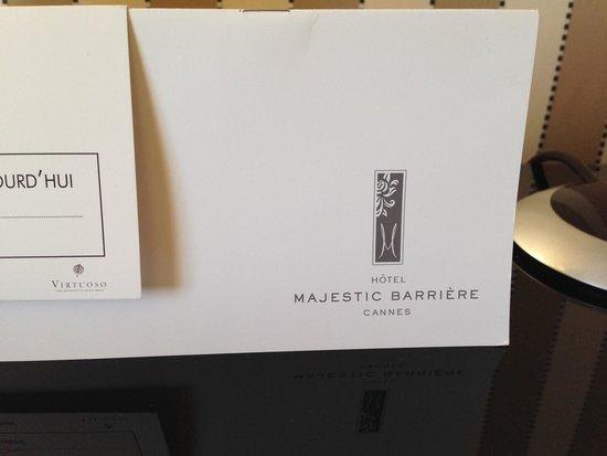 Hôtel Barrière Le Majestic Cannes: .