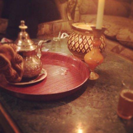 Albakech House: Morrocan mint tea