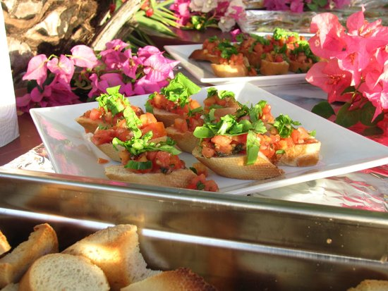 Il Giardino: Bruschetta special catering