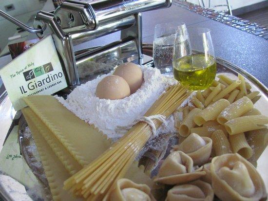 Il Giardino: Home made pasta and ravioli