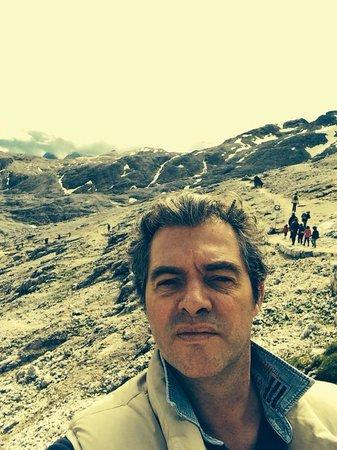 Parco Paneveggio - Pale di San Martino : io sopra a 2700 metri