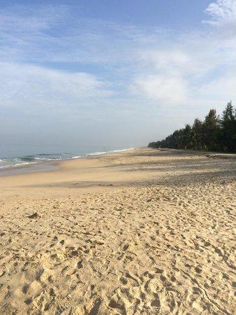 Marari Beach Resort: La plage pour nous seuls !