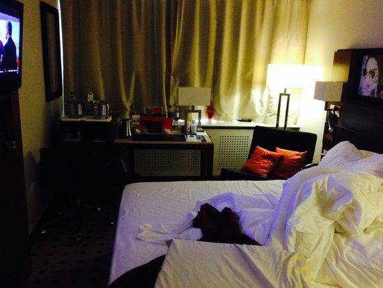 Radisson Blu Latvija Conference & Spa Hotel: large bed