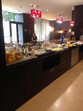 AC Hotel Algeciras: Colazione
