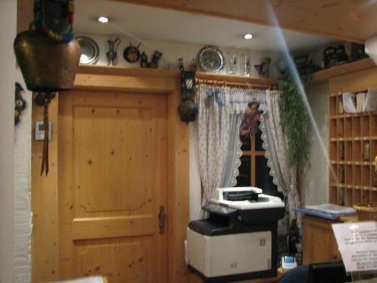 Hotel Gasthof Drei Mohren: לובי המלון