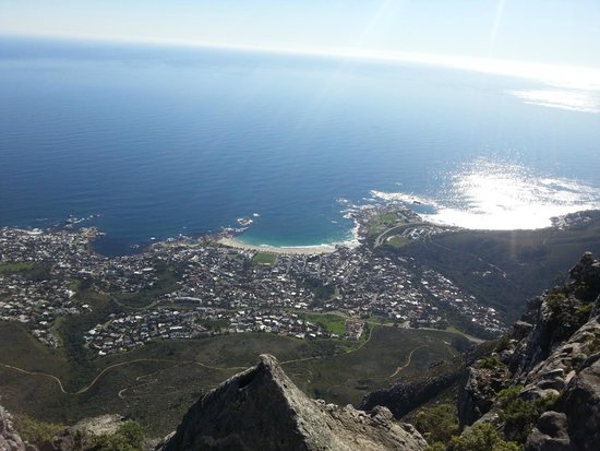 Table Mountain Aerial Cableway: View of cape town