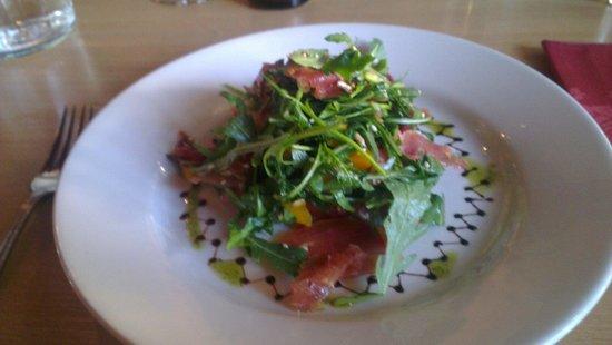Deja Vu : Butternut squash and Serrano ham salad