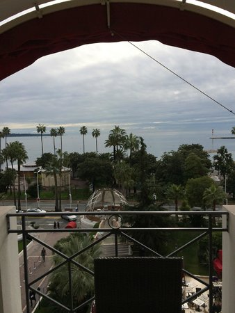 Hotel Barriere Le Majestic Cannes: View from the Suite
