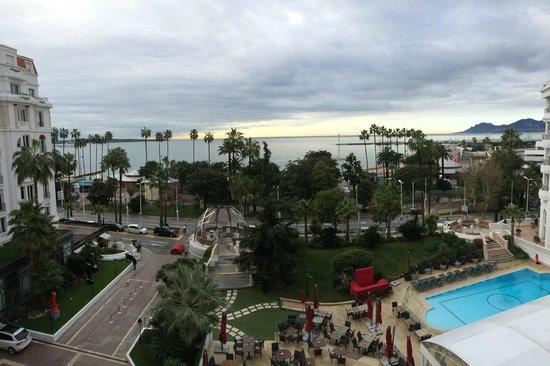 Hôtel Barrière Le Majestic Cannes : View from the Suite