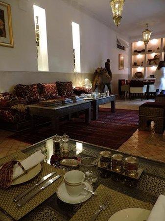 Riad Assakina : Breakfast room