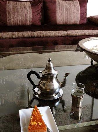 Riad Assakina : Afternoon tea
