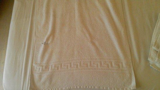 Garnavos/Paradise Apartments: Towels
