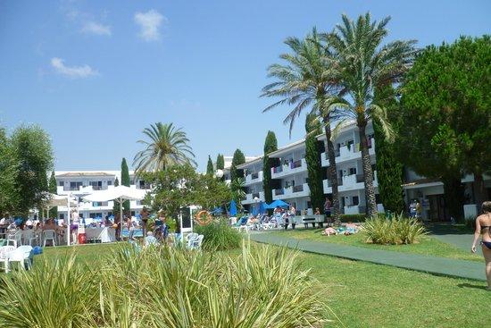 Inturotel Cala Azul Garden: The garden area of Cala Azul Gardens - peace and quiet