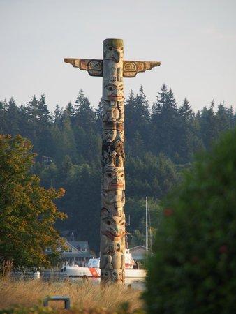 Port Ludlow, WA: Totem Pole