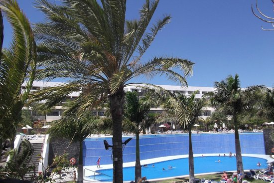 Hotel Costa Calero: Top Pool and lower pool