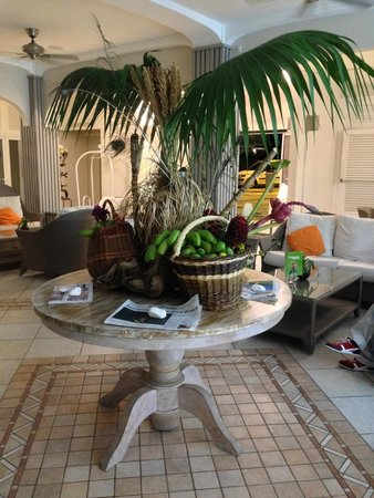 Hotel La Pagerie: L'accueil