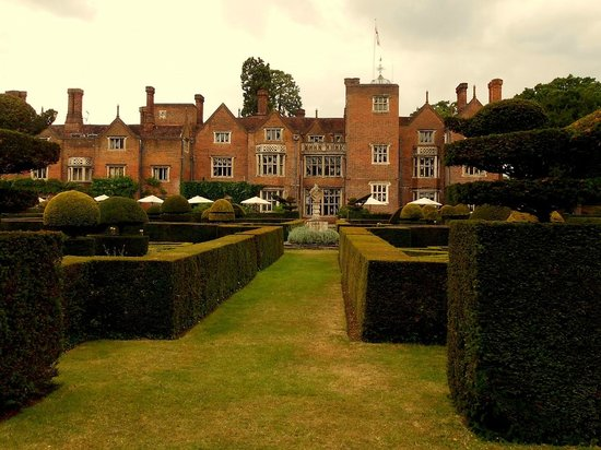 Afternoon Tea at Great Fosters: hotel from garden