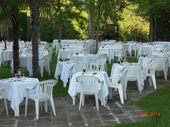 Hotel Savoia Thermae & Spa: cena di gala in giardino
