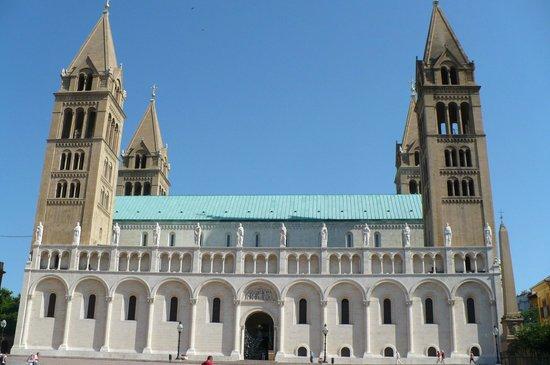Pecs Cathedral : La cattadrale