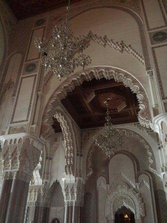 Int rieur de la mosqu e picture of hassan ii mosque for Mosquee hassan 2 interieur