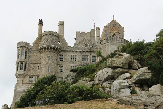 St. Michael's Mount: The view of the castle