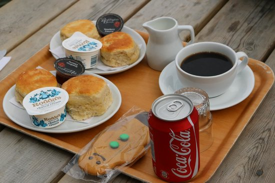 St. Michael's Mount: An amazing cream tea