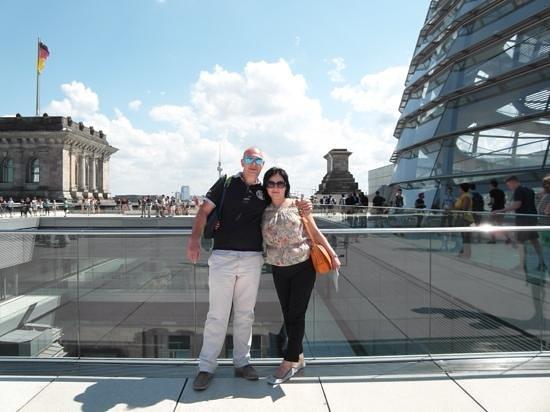 Plenarbereich Reichstagsgebäude: Покорители Рейстага