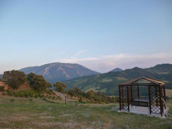 Agriturismo ca'Licozzo : prachtige panorama's en heerlijke plekjes om te zitten.