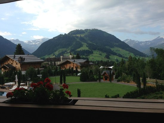 The Alpina Gstaad: View